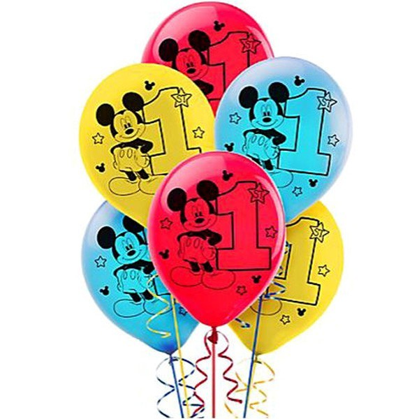 Mickey Mouse 1st Birthday Balloons Perfect Party Supplies