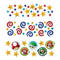 Super Mario Brothers Confetti Value Pack - 34g