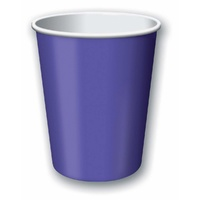 Dark Purple Party Supplies Dark Purple Cups 24 Pack