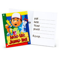 Handy Manny Invitations Invites 8 pk