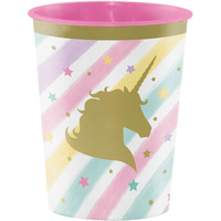 Unicorn Sparkle Party Supplies Favour Cup x1