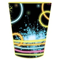 Glow Party Supplies Favour Cup x1