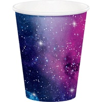 Galaxy Party Supplies Paper Party Cups x 8 Pack