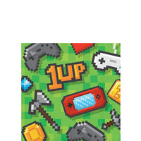 Game On Party Supplies Beverage Napkins