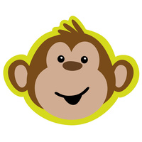 Monkey Party Supplies Monkey Around Invitations 8 Pack