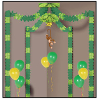Monkey Party Supplies Jungle Monkey Party Canopy