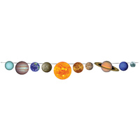 Space Party Supplies Solar System Streamer