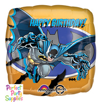 Batman Happy Birthday Foil Balloon 43cm