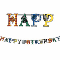 Harry Potter Party Supplies Happy Birthday Jumbo Add An Age Letter Banner Kit
