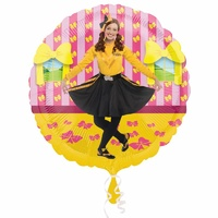 The Wiggles Party Supplies Dancing Emma Foil Balloon 43cm