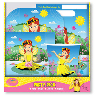 Wiggles Party Supplies Emma Party Pack for 8 Guests