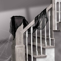 Halloween Black Gauze Cloth Decoration