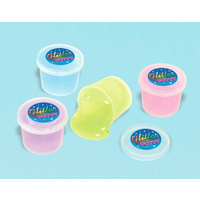 Mini Glitter Putty Favours 12 Pack