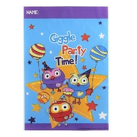 Giggle and Hoot Party Supplies Plastic Loot Bags 8 Pack