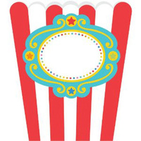 Circus 1st Birthday Paper Treat Bags 8 pack