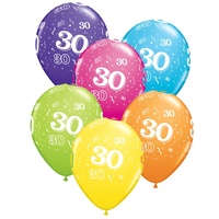 30th Birthday Party Supplies 30th Birthday Confetti Balloons