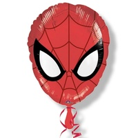 Spiderman Party Supplies Spiderman Mask Shaped Foil Balloon
