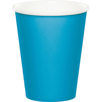 Turquoise Party Supplies Blue Party Cups 24 Pack
