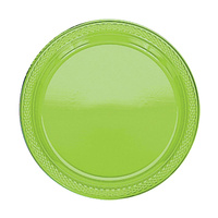 Kiwi Green Party Supplies Kiwi Green Lunch Plates 20 Pack
