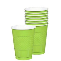 Kiwi Green Party Supplies Kiwi Green Cups 20 Pack