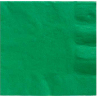 Festive Green Party Supplies Festive Green Lunch Napkins 20 Pack