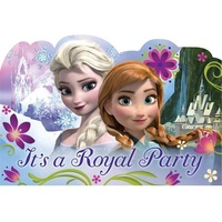 Disney Frozen Postcard Invitations With Seals 8 pack