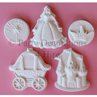 Princess Party Loot Favour Plasters 5 Pack