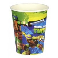 TMNT Cups 8 Pack Paper