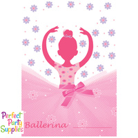 Ballerina Princess Loot Bags 8 Pack