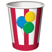 Circus Time Paper Cups 8 Pack