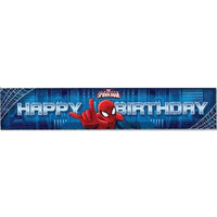 Spiderman Ultimate Party Banner