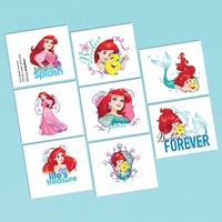 The Little Mermaid 1 Sheet Tattoos