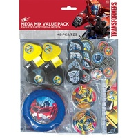 Transformers Party Supplies - Mega Favor Mix Value Pack