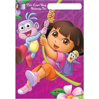 Dora the Explorer Loot Bags 8 Pack