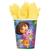 Dora the Explorer Cups 8 Pack