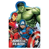 Avengers Postcard Invitations 8 Pack