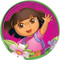 Dora the Explorer Dinner Plates 8 Pack