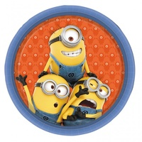 Despicable Me Plates 8 Pack