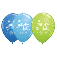 Birthday Party Supplies Happy Birthday Sparkle Latex Balloons