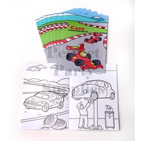 Cars Colouring Books 8 Pack