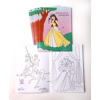 Princess Themes Colouring Books