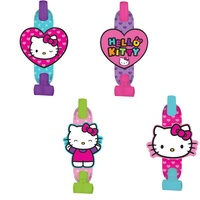 Hello Kitty Party Supplies Blowouts 8 Pack