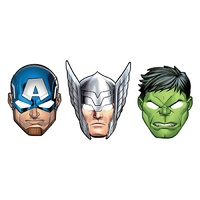 Avengers Party Masks 8 Pack