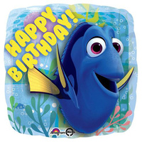 Finding Dory Happy Birthday Balloon 43cm