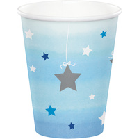 Twinkle Twinkle One Little Star Boy Cups 8 Pack