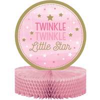 Twinkle Twinkle One Little Star Girl Centerpiece