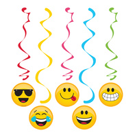 Show Your Emojions Emoji Hanging Decorations 5 Pack