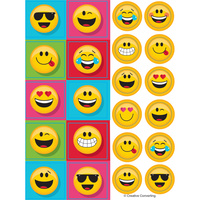 Show Your Emojions Emoji Stickers 4 Sheets