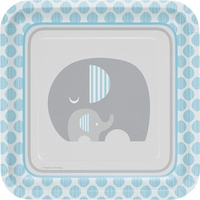 Elephant Boy Little Peanut Dinner Plates 8 Pack