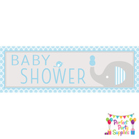 Elephant Boy Party Supplies Elephant Little Peanut Baby Shower Banner